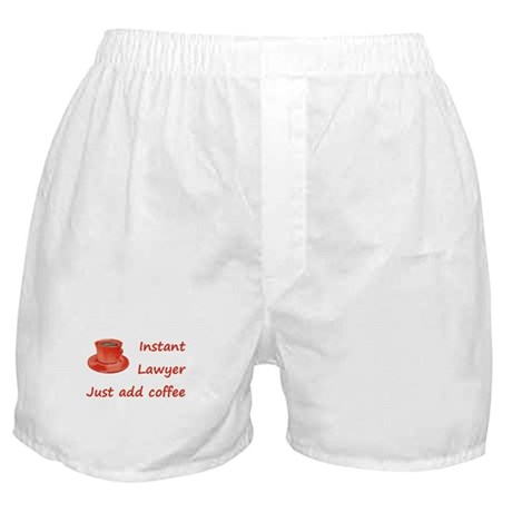 Instant Lawyer Boxer Shorts