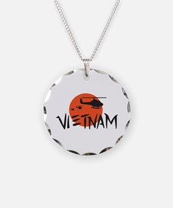 VIETNAM HELICOPTERS Necklace