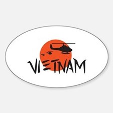VIETNAM HELICOPTERS Decal