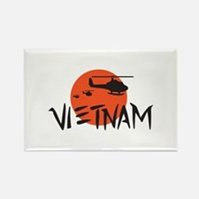 VIETNAM HELICOPTERS Magnets
