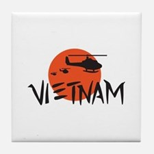 VIETNAM HELICOPTERS Tile Coaster
