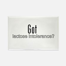 Cool Milk intolerance Rectangle Magnet