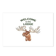 WELCOME TO THE LODGE Postcards (Package of 8)
