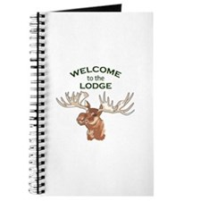 WELCOME TO THE LODGE Journal