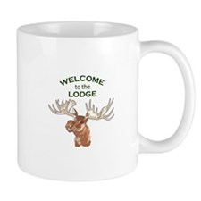 WELCOME TO THE LODGE Mugs