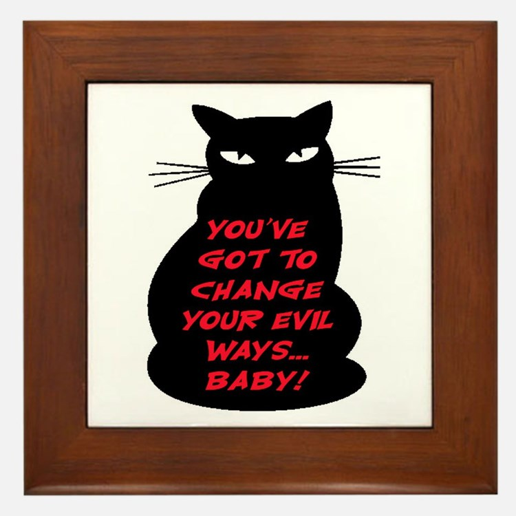 EVIL WAYS #2 Framed Tile