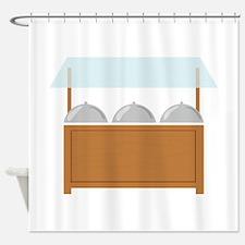 Buffet Shower Curtain
