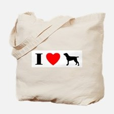 I Heart Bracco Italiano Tote Bag