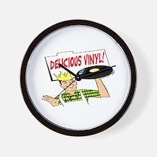 DELICIOUS VINYL Wall Clock