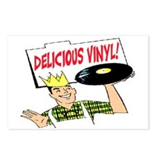DELICIOUS VINYL Postcards (Package of 8)