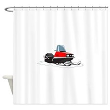 SNOWMOBILE Shower Curtain