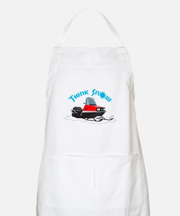 THINK SNOW Apron