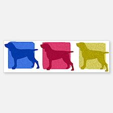 Color Row Bracco Italiano Bumper Bumper Bumper Sticker