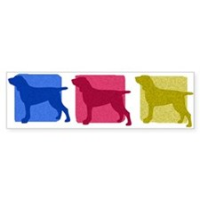 Color Row Bracco Italiano Bumper Bumper Sticker