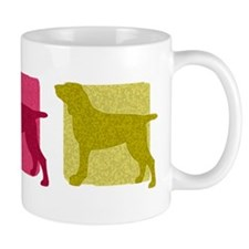 Color Row Bracco Italiano Small Mug