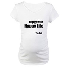 Happy Wife Happy Life The End Shirt