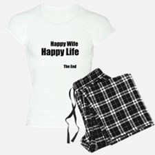 Happy Wife Happy Life The End Pajamas