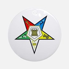 Oreder of the Easter Star Ornament (Round)