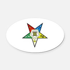 Oreder of the Easter Star Oval Car Magnet