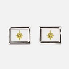 MILITARY INTELLIGENCE Rectangular Cufflinks
