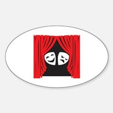 LIVE THEATRE Decal