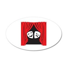 LIVE THEATRE Wall Decal