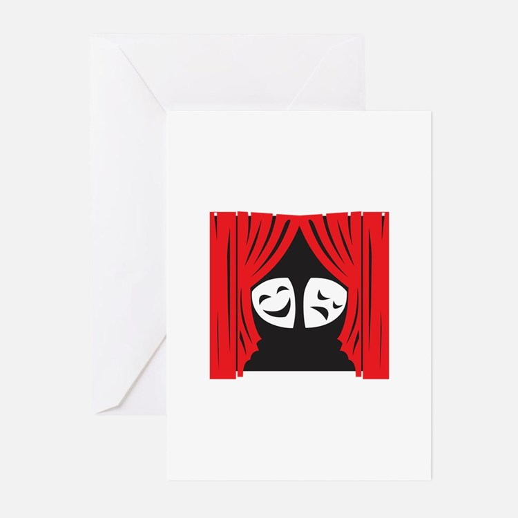 LIVE THEATRE Greeting Cards