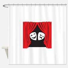 LIVE THEATRE Shower Curtain