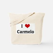 I Love Carmelo Tote Bag