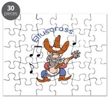 BANJO BLUEGRASS Puzzle