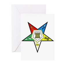 ORDER OF THE EASTERN STAR Greeting Cards