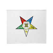 ORDER OF THE EASTERN STAR Throw Blanket