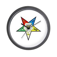 ORDER OF THE EASTERN STAR Wall Clock