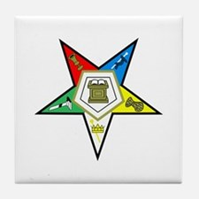 ORDER OF THE EASTERN STAR Tile Coaster