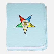 ORDER OF THE EASTERN STAR baby blanket