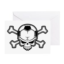 Soccer Pirate II Greeting Cards (Pk of 10)
