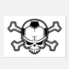 Soccer Pirate II Postcards (Package of 8)