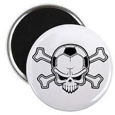 "Soccer Pirate II 2.25"" Magnet (10 pack)"