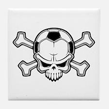 Soccer Pirate II Tile Coaster