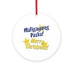 Tagalog & English Ornament (Round)