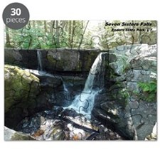 Middle Seven Sisters Waterfall Puzzle
