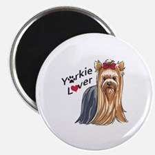 YORKIE LOVER Magnets