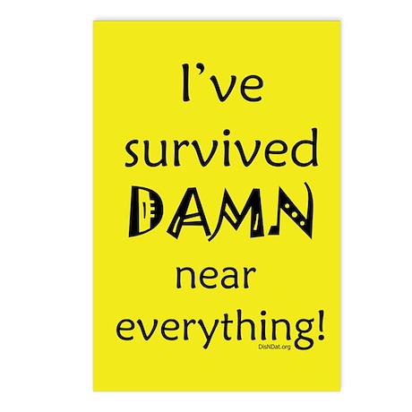 I've Survived Postcards (Package of 8)