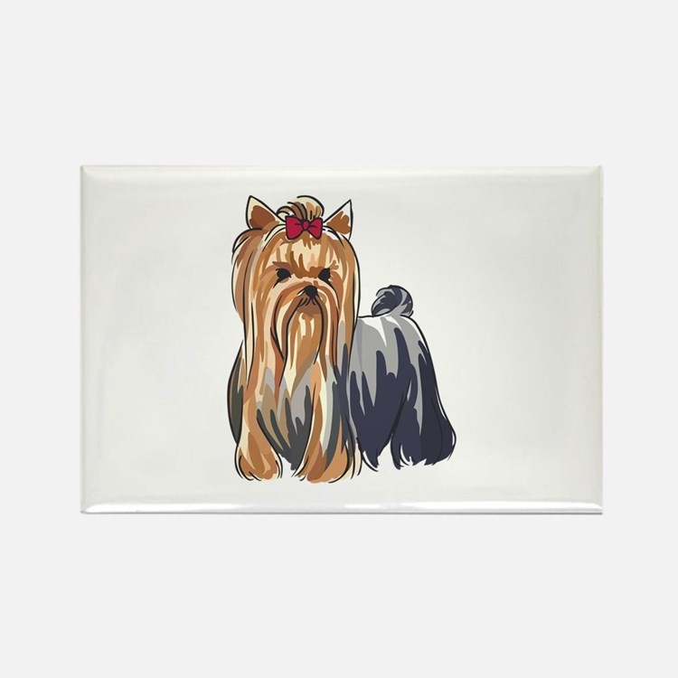 YORKSHIRE TERRIERS Magnets