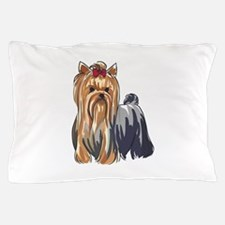 YORKSHIRE TERRIERS Pillow Case