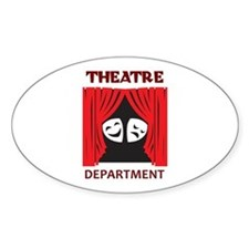 THEATRE DEPARTMENT Decal