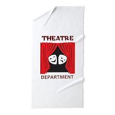 THEATRE DEPARTMENT Beach Towel