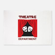 THEATRE DEPARTMENT 5'x7'Area Rug