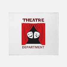 THEATRE DEPARTMENT Throw Blanket