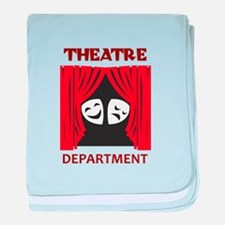 THEATRE DEPARTMENT baby blanket